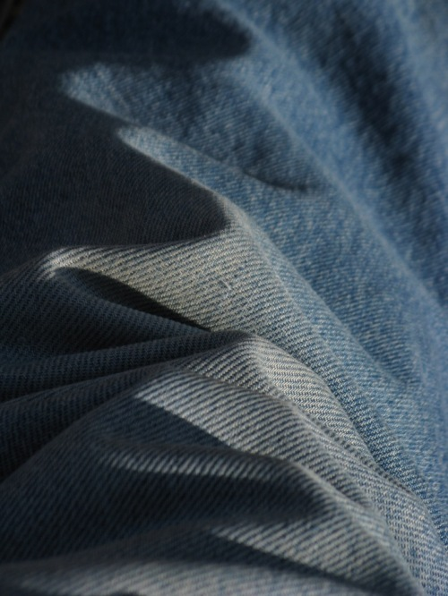 A pants-leg close-up.