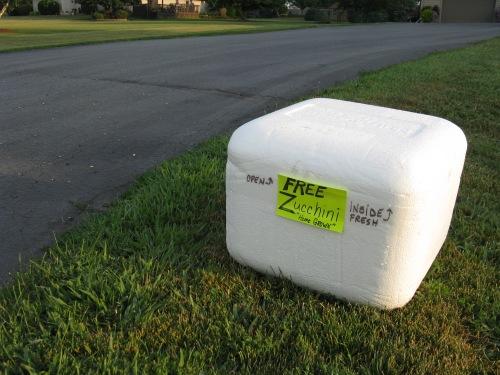 Saturday morning, 16 August 2014, Byron, IL