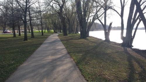 Byron, IL, Rock River, 18 April 2015