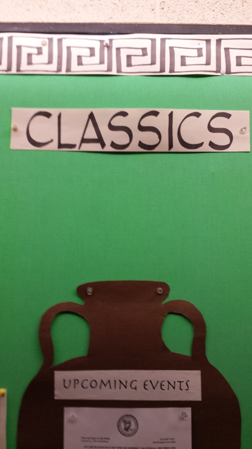 """I was getting slap-happy tired when I took this picture, but something about there being anything """"upcoming"""" about classics struck me as funny."""