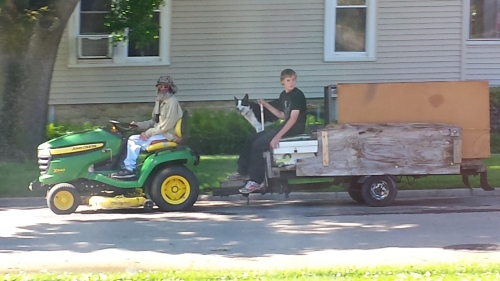 Oregon, Illinois, 23 June 2015, about 9:42 a.m., on Madison street, just east of Fourth Street.