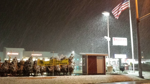 Byron, IL snow, 20 Nov. 2015