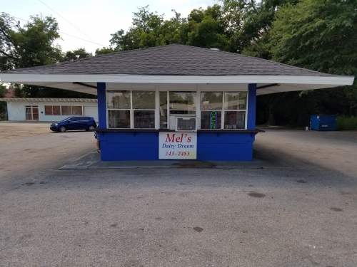 Mel's Dairy Dream stands where the Lee house stood on Alabama Ave. I can vouch for the chocolate shakes.