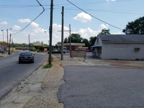 View of Alabama Avenue south from in front of Mel's Dairy Dream.