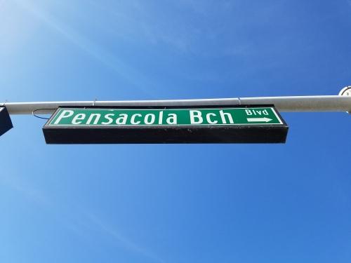 """""""Pensacola Bch""""? Pensacola Bitch?"""