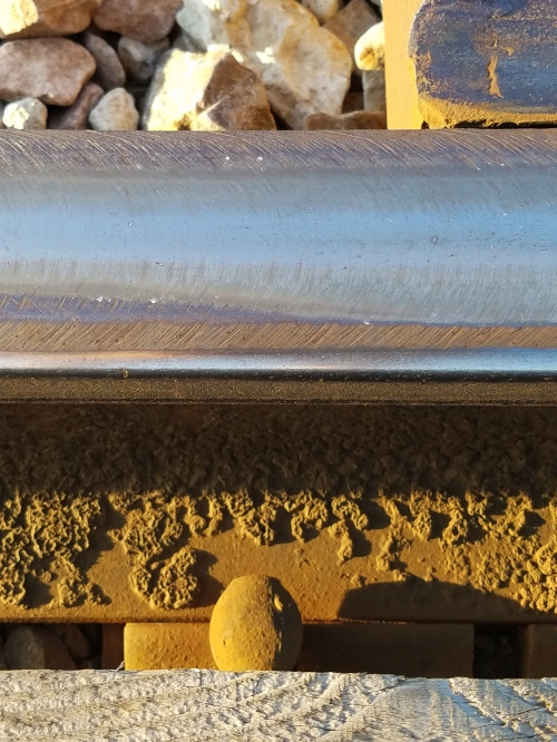 Rail textures. 6 Sept.
